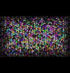 Multicolor mosaic vector