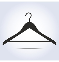 Hanger simple icon in vector