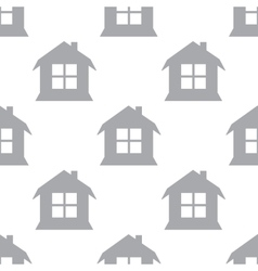 New house seamless pattern vector