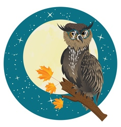 Wise owl4 vector