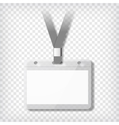 Name badge template vector