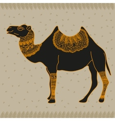 Camel Egypt vector image vector image