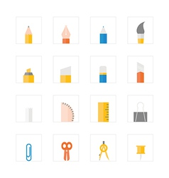 Icon stationery vector