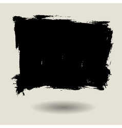 Grunge brush bg blank vector