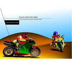 al 0934 moto 04 vector image vector image