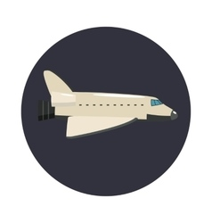 Big plane icon cartoon style vector image vector image