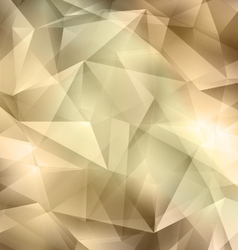 Crystal brown background vector