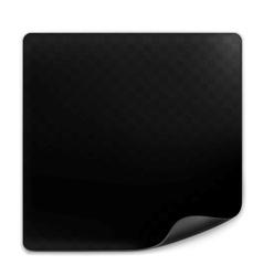 Black page vector image