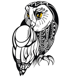 Decorative Owl vector image