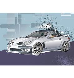 alto car vector image