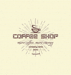 Coffee badges logos and labels for any use vector image