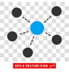 Connections Eps Icon vector image vector image