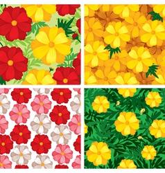 cosmos pattern set vector image vector image