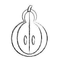 Delicious pear ftuit vector