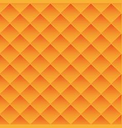 Abstract background orange tiles vector