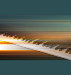 Abstract grunge music background with piano vector