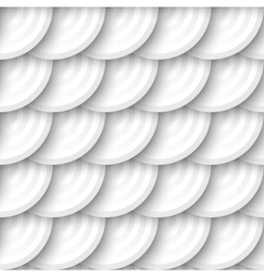 Circles with drop shadows vector image vector image