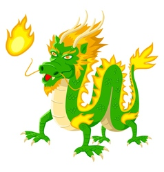Dragon cartoon vector