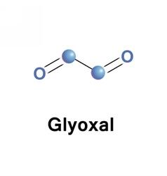Glyoxal smallest dialdehyde vector