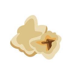 Popcorn food delicious grain one flat icon vector