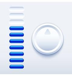 Volume control vector image