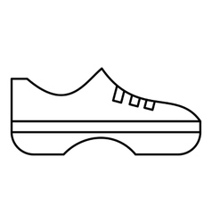 Women sneakers icon outline style vector