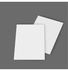 Template magazine vector image