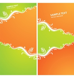 Abstract Summer vector image vector image