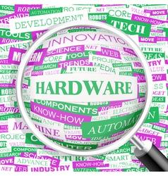 HARDWARE vector image