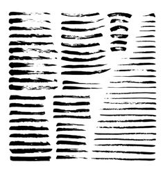 Mega set of ink brushes vector