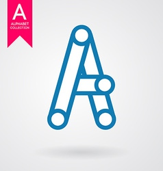 Creative letter vector image vector image
