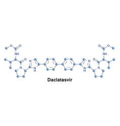 Daclatasvir medication hcv vector