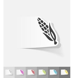 realistic design element corn vector image