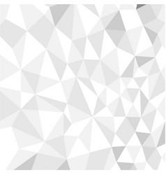 seamless white polygon vector image