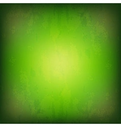 Grunge Green Background vector image