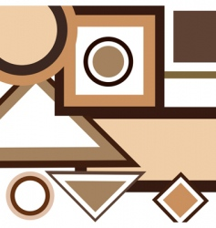 Background geometrical vector