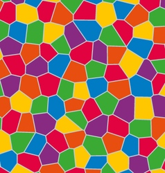Color full mosaic background vector