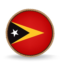 East timor seal vector
