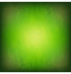 Grunge green background vector