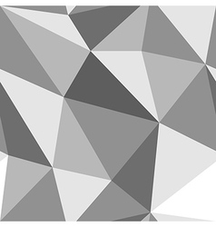 Seamless monochrome geometric pattern from vector image vector image