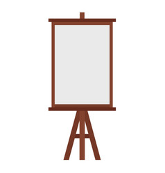 Easel icon isolated vector