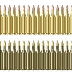 Bullet pattern line vector