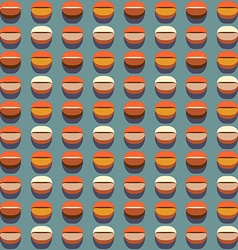 Coffee seamless pattern stylized coffee beans vector