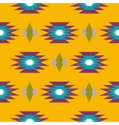 Aztec indian geometric seamless pattern vector
