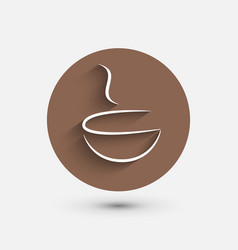 Coffee shop coffee icon cafe design vector
