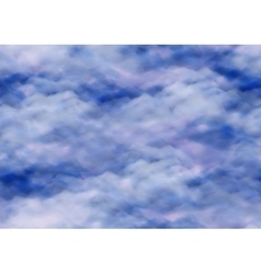 Sky with Clouds Seamless vector image vector image