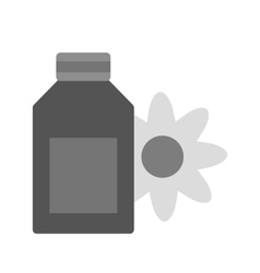 Scented lotion vector