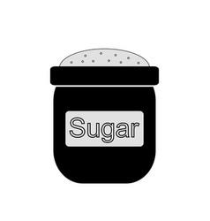 bag of sugar icon vector image