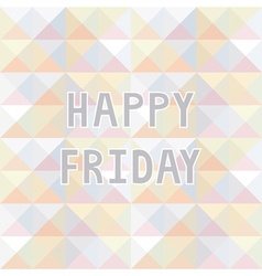 Happy friday background2 vector