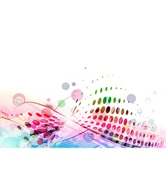 Abstract colourful backgroung vector